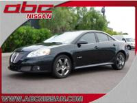 2009 Pontiac G6 GXP 4dr Sedan Sedan Black V6 3.6L Gas