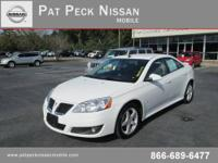 Pat Peck Nissan Mobile presents this 2009 PONTIAC G6