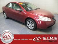 2009 Pontiac G6 Base Performance Red Metallic FWD