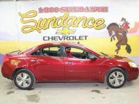 Performance Red Metallic 2009 Pontiac G6 SE FWD 4-Speed