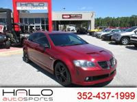 2009 PONTIAC G8 SPORTS SEDAN ** HALO CERTIFIED- 140
