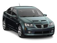 Recent Arrival! 2009 Pontiac G8 RWD 5-Speed Automatic