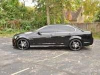 I have up for grabs my 2009 Pontiac G8 GT (Sport