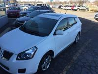 2009 Pontiac Vibe Ultra White Recent Arrival! Just
