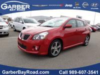 Exterior Color: red, Body: Hatchback, Engine: 2.4L I4