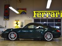Exterior Color: porsche racing green metallic, Body: