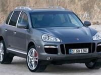 This 2009 Porsche Cayenne is a midsize crossover SUV