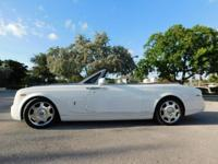 THIS 2009 ROLLS-ROYCE PHANTOM DROP HEAD CONVERTIBLE IS