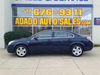 Options:  2009 Saturn Aura Visit Adado Auto Sales