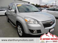 This 2009 Saturn Outlook 1/2 ton; Luxury has a 3.6