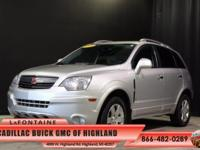 2009 Saturn VUE XR in Silver. 3.6L V6 SFI. Your lucky