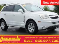 Recent Arrival! This 2009 Saturn VUE XR in Polar White