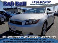 Clean CARFAX. 2.4L I4 SMPI DOHC. The Bob Bell Ford