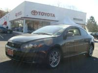 2009 SCION TC-4CYL-FWD-AUTOMATIC-BLACK DARK GREY