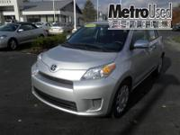 One owner trade! Scion Certified! Great Gas Milage and