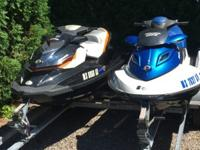 ,,,,,,,,,,Blue Jet Ski - 2009 Sea Doo GTX 155. Was used