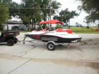 2009 Sea Doo Sportster 150, 17 Hours, Upgraded Marine