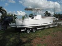 This 2009 Sea Fox 23 Pro Series Center Console is