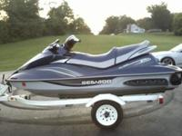 2009 SEADOO GTI SE 3 SEATER ONLY 12 HRS. BOUGHT IT NEW