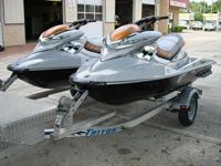 TWO 2009 SEADOO RXP X,NO RESERVESUPERCHARGED79 AND 81