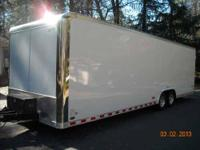 2009 Shadow GT 28 foot Pace Enclosed Car Hauler, Shadow