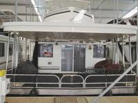 2009 SHARPE 18' X 94' HOUSEBOAT, 5 BEDROOMS, 2