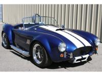 2009 Cobra Replica, 427 Roush Ford, 550 hp, Tremic 5