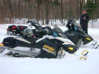 Original owner selling with 6300 miles. Snowmobile is