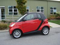 Options Included: 2009 Smart Car with low miles! ABS,