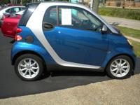 Options Included: N/AThis Blue Metallic fortwo passion