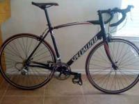 I have a 2009 Specialized Allez Road bike, with less