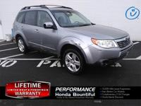 2009 Subaru Forester 2.5X Limited Steel Silver Metallic