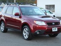 Camellia Red Pearl 2009 Subaru Forester 2.5XT Limited