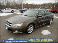 2009 Subaru Legacy 2-5I Gray H4 2.5L Gas AWD FURY USED