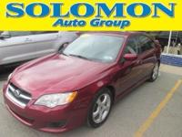 FEATURES A 2.5L I4, 4 SPEED AUTOMATIC TRANSMISSION,