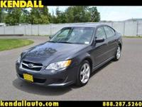 This is the 2009 Subaru Legacy sedan. This has it all!