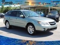 New Price! CARFAX One-Owner. 2009 Subaru Outback 2.5i