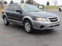 Recent Arrival! Clean CARFAX. This 2009 Subaru Outback