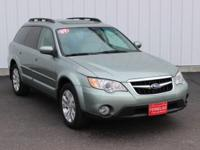 Options:  2009 Subaru Outback 2.5I|Green|Full Exterior