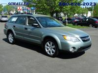 CLEAN CARFAX. Outback 2.5i, 4-Speed Automatic, and AWD.