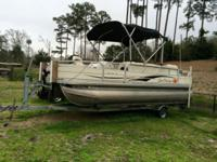 2009 Suntracker 21 Ft Signature Fishing