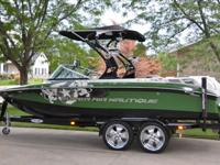 2009 Super Air Nautique 210 Team Edition is looking
