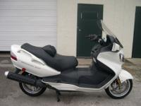 2009 SUZUKI BURGMAN 650 SCOOTER.This 650 is a recent