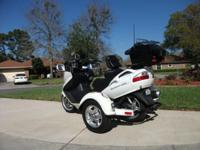 2009 Suzuki Burgman AN 650-Automatic with Tow-Pac trike