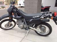 On the street the DR650SE is a joy to ride. It lets you
