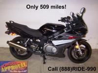 Used Suzuki GS500 sport bike - Only 509 miles!! Used