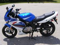 2009 Suzuki GS500F is exactly what a beginning rider
