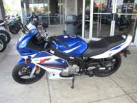 Motorcycles Sport. 2009 Suzuki GS500F Sport bike looks