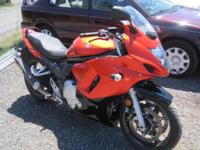 2009 Suzuki GSX 650F 6,383 miles Will be auctioned at