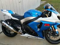 2009 Suzuki GXS-R1000. Yoshineer exhaust- Fuel